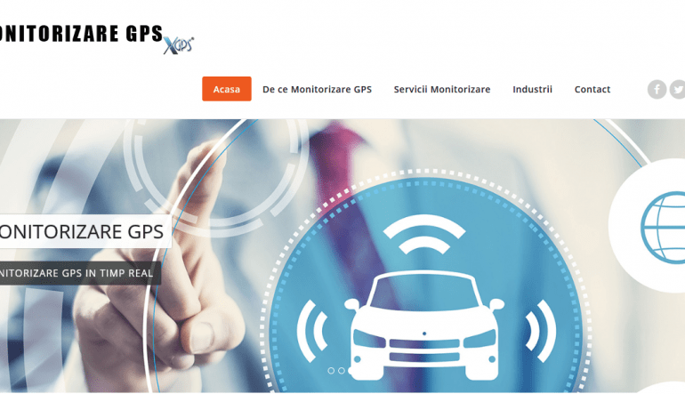 Proiect WEB DESIGN recent realizat - Gps Monitorizare